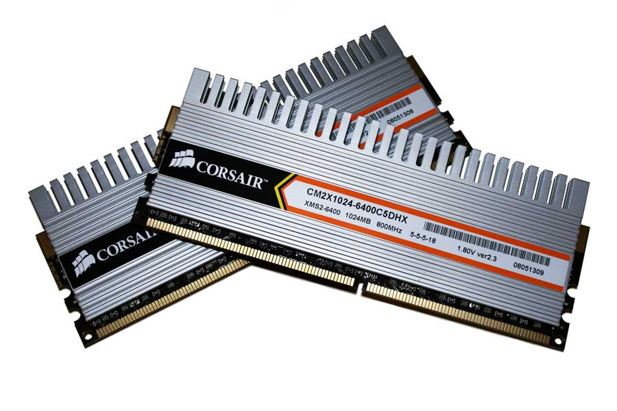 DDR2 RAM mit Kühlkörper