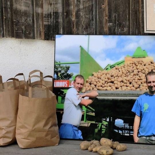 Die Brüder Hannes und Christoph Post (Foto: Knut Kuckel)