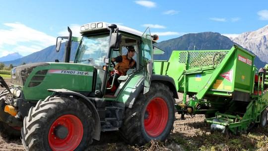 Mais- und Kartoffelernte - Fotos dokumentieren den heutigen Arbeitstag, Foto: Knut Kuckel