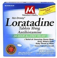 loratadine sinus infection