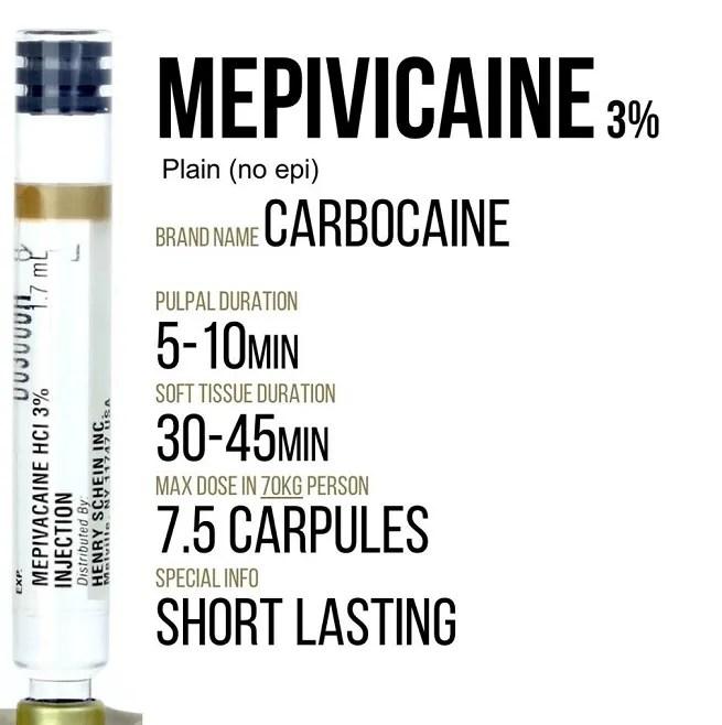 Mepivicaine plain information