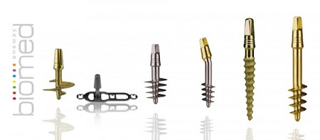 Images of IHDE dental implants Tramonte design