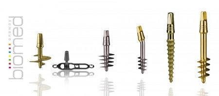 Images of IHDE dental implants Tramonte design
