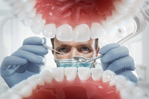 Image of teeth and a great family dentist in Wheaton