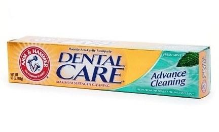RDA toothpaste