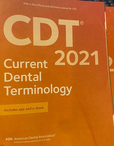 ada dental codes 2021