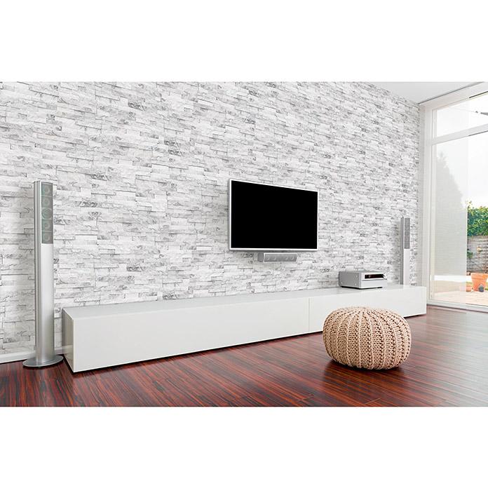 rivestimento in pietra nel soggiorno: Helsinki Rivestimento Parete In Pietra Naturale Acquistare Presso Bauhaus