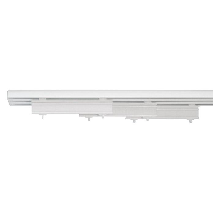 rail pour panneaux japonais blanc