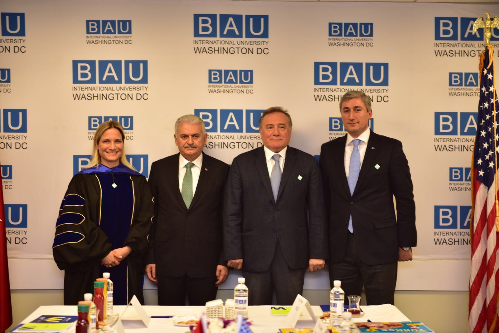 TURKISH PRIME MINISTER VISITS BAU INTERNATIONAL, BRIEFED ON ACADEMIC MISSION