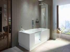 Shower + Bath Walk In Dusche und Badewanne à la Duravit