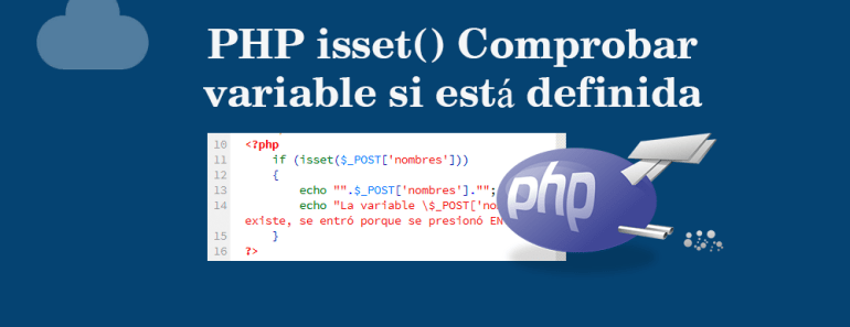 PHP isset