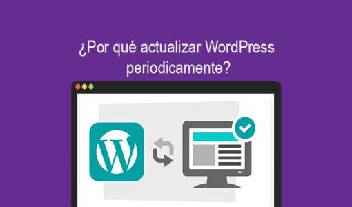 Por qué actualizar WordPress