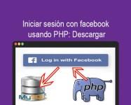 Iniciar sesión con facebook usando PHP Descargar