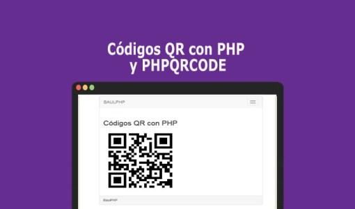 Códigos QR con PHP y PHPQRCODE