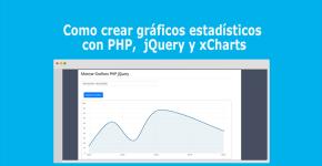 Como crear gráficos estadísticos con PHP, jQuery y xCharts