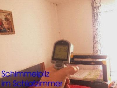 Schimmelpilze im Schlafzimmer - Schimmel - GUTACHTER HAUSKAUF