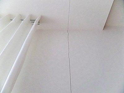 Risse Trockenbau Rigips Dehnfuge gerissen Risse in Wand Haus bzw. Wohnung