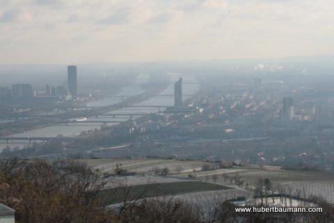 Blick auf Wien / Donau
