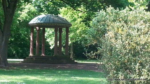 Nilkheimer Park  Tempel