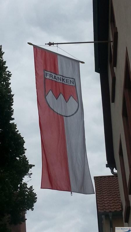 Franken-Fahne-Wappen
