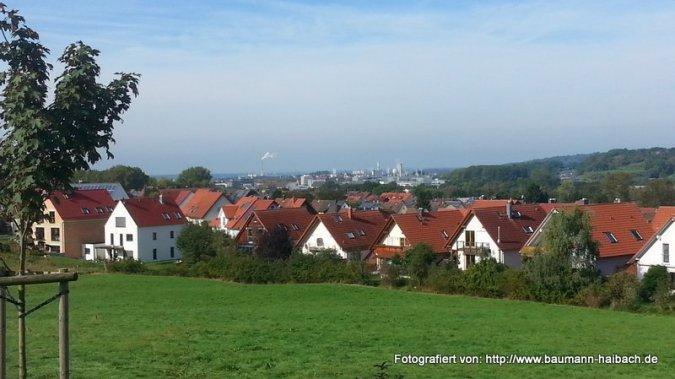 am Untergartenhof Blick nach Aschaffenburg