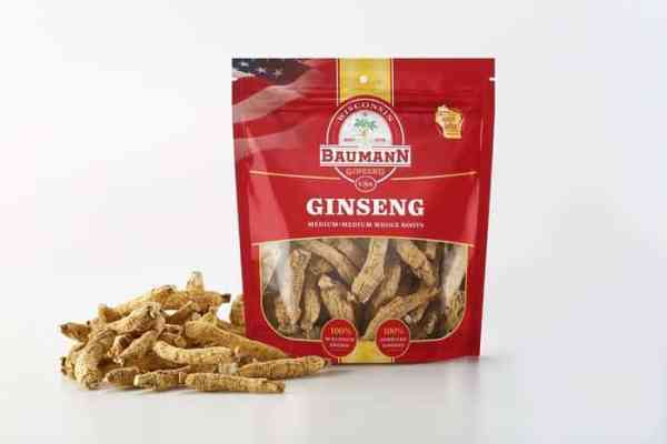 Wisconsin Ginseng Medium Root Medium Front