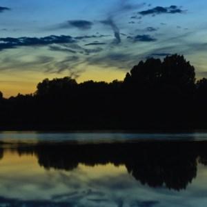 Abendstimmung am Echinger See