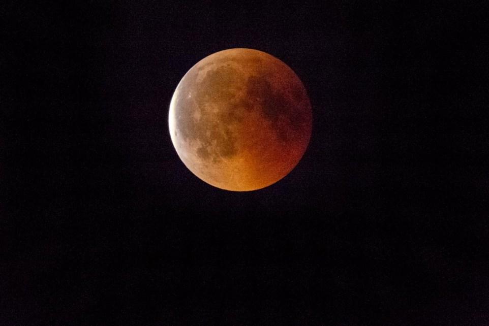 Mondfinsternis - Blutmond