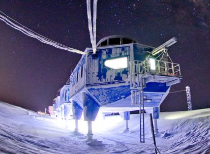 Forschungsstation Halley VI im ewigen Eis