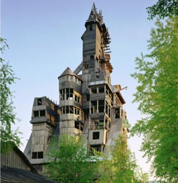 Holzhaus als Hochhaus