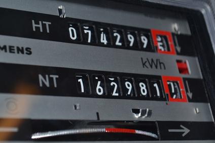 Energiezähler kWh