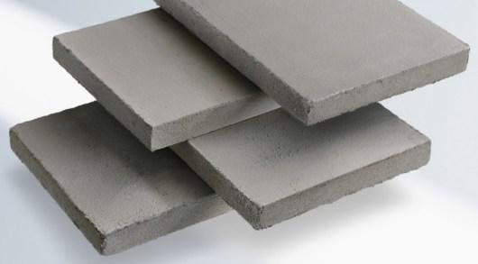 Platten vom Hochleistungsdämmstoff Calostat Marke Evonik