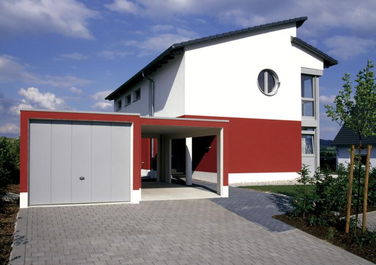 Fertiggarage mit carport anbau  Bau-Praxis » Garage oder Carport?
