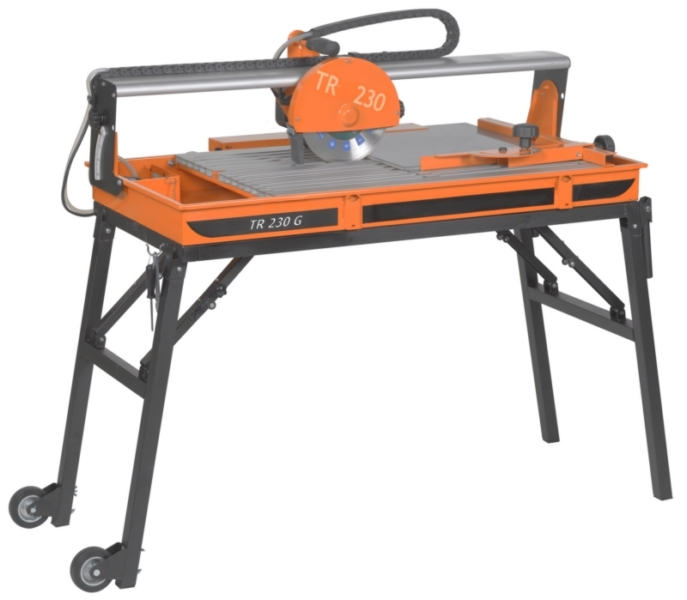 clipper tr230 gs rail tile saw