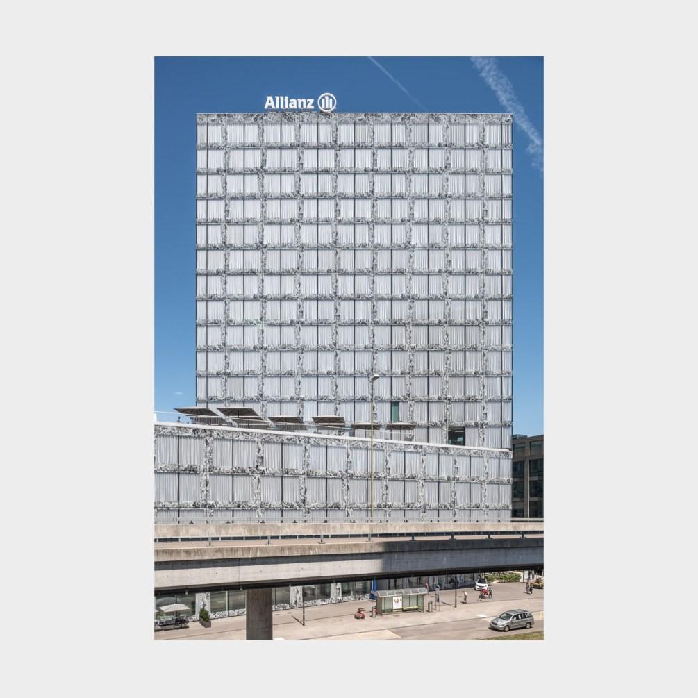 Architekturfotografie Bürohochhaus Richti-Areal Zürich Wallisellen
