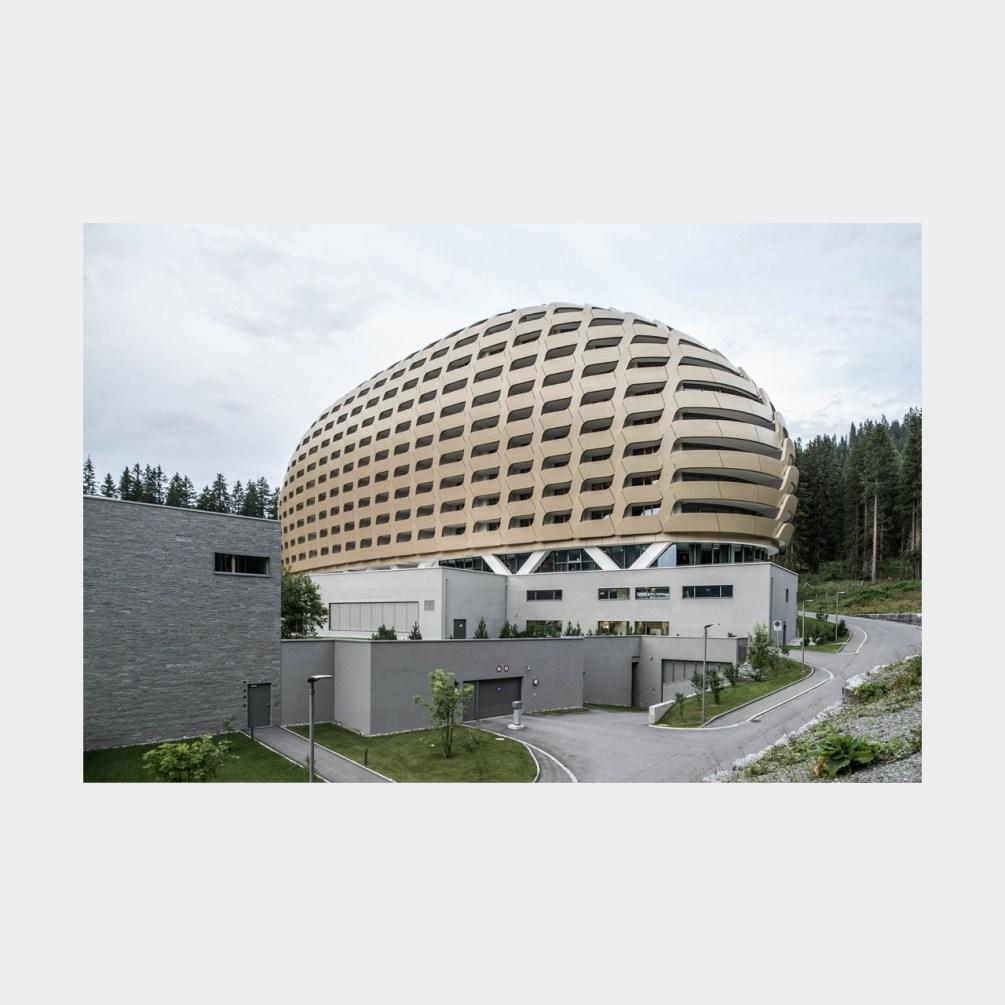 Architekturfotografie Davos Hotel Intercontinental