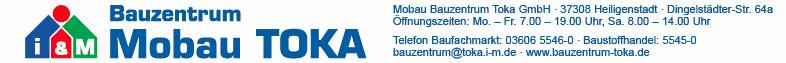 Mobau Bauzentrum TOKA GmbH
