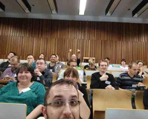 Ich auf dem Barcamp