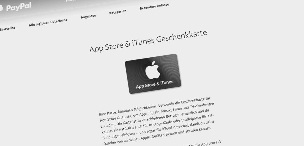 Itunes Karte Einlösen.Schnäppchen 15 Bonus Bei Apple Itunes Guthaben Via Paypal Update