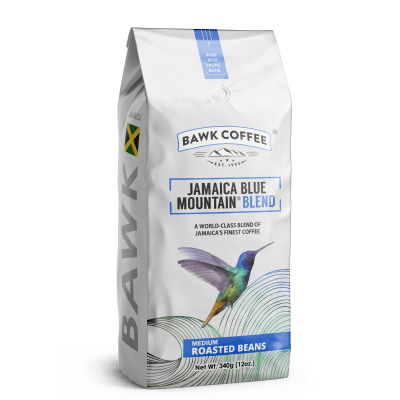 BAWK Coffee Jamaica Blue Mountain Coffee (Blend)