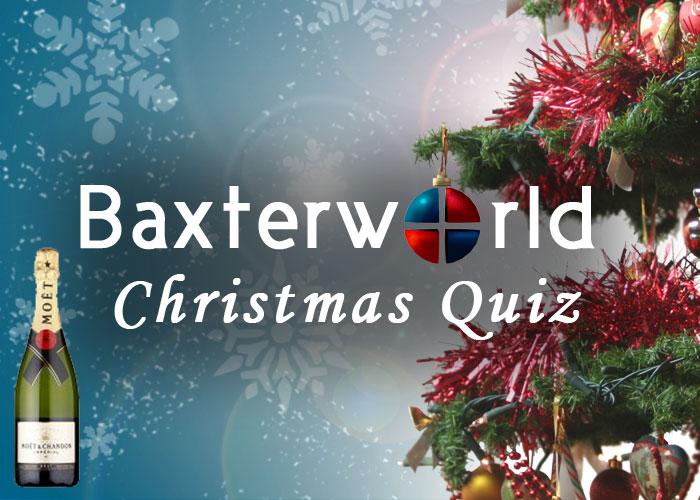 Christmas Quiz Baxterworld