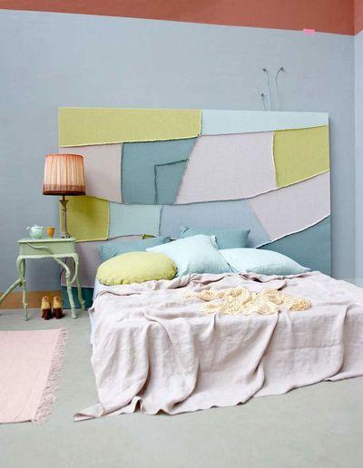une tete de lit patchwork 5194167
