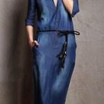 Uzun Kot Elbise Modelleri