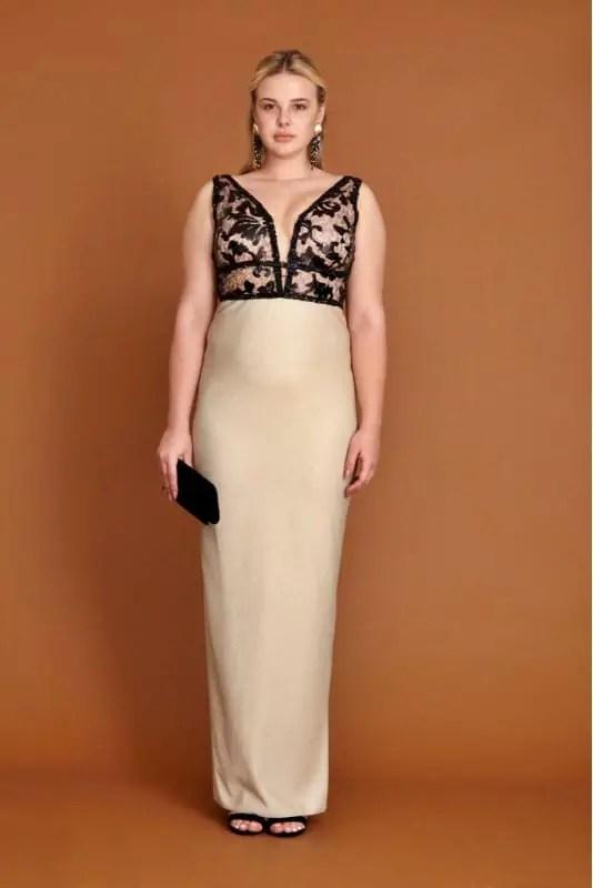 İzmir Toptan Büyük Beden Elbise Modelleri