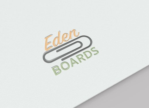 Eden-Boards-Logo-letterpress-mockup-on-paper-by-Bayard-Heimer