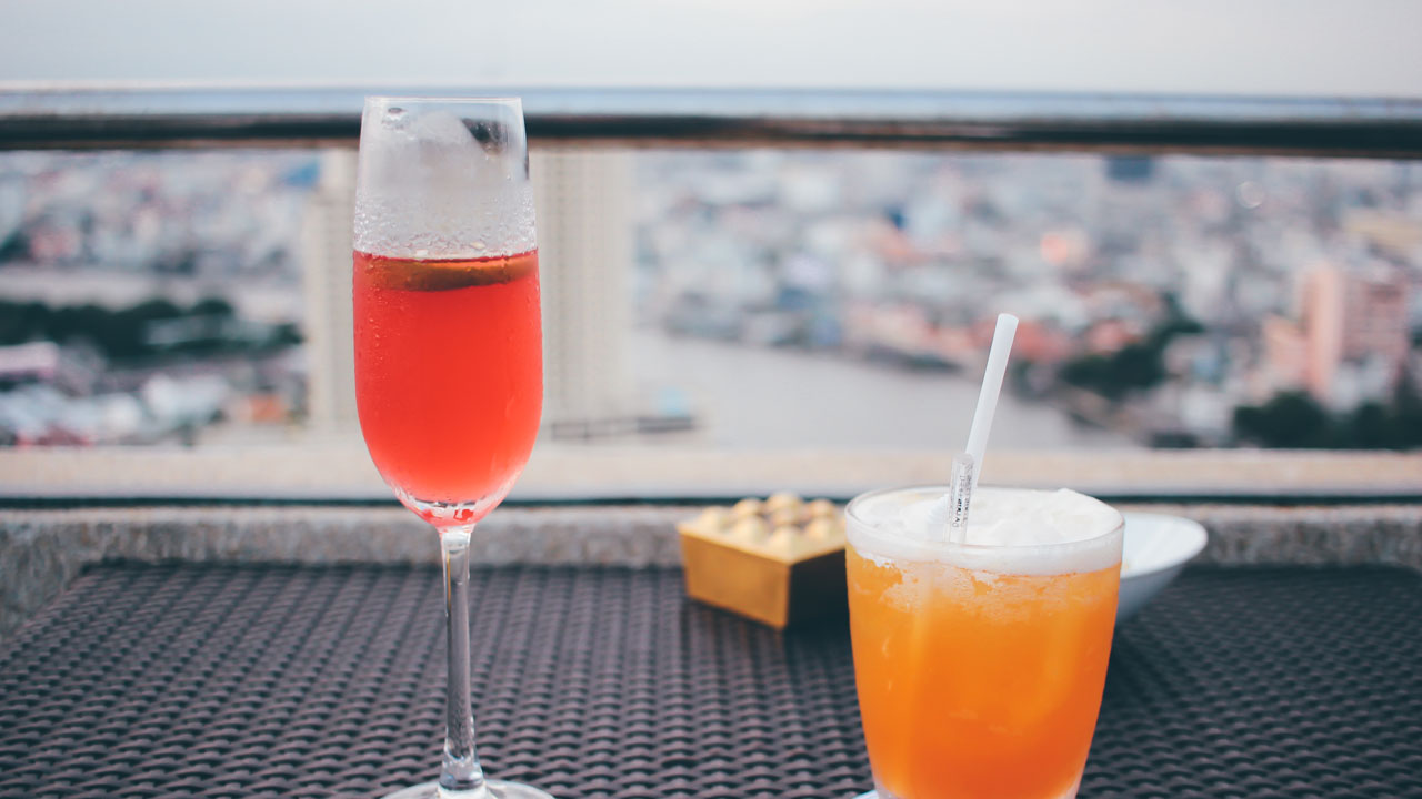 Warm days mean rooftop bars.