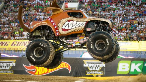 Bay Area Monster Jam Brings Massive Cars & Collisions to Town