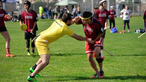 Brooms Up! Quidditch at Spartan Stadium