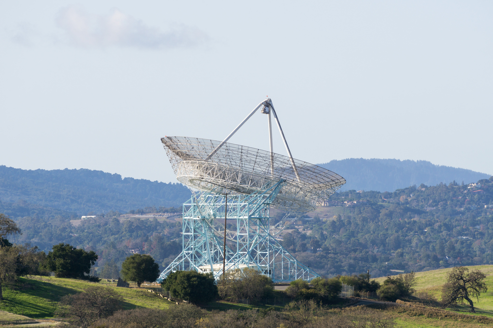 The Stanford Dish hike.