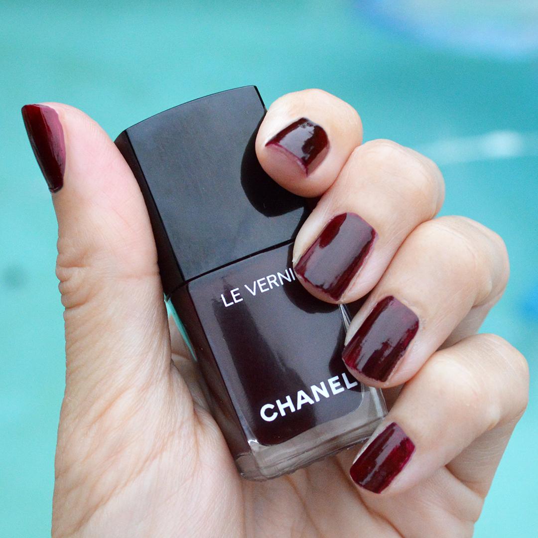 Chanel Fall 2017 Nail Polish Rouge Noir